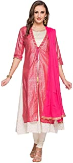 W for Woman Women's Rayon a-line Salwar Suit Set
