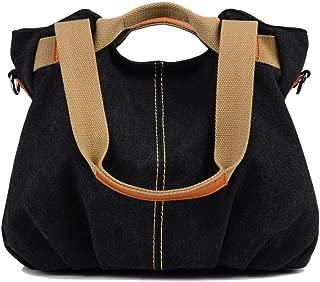 Women Ladies Bags Vintage Hobo Canvas Daily Purse Shoulder Tote Shopper Handbag
