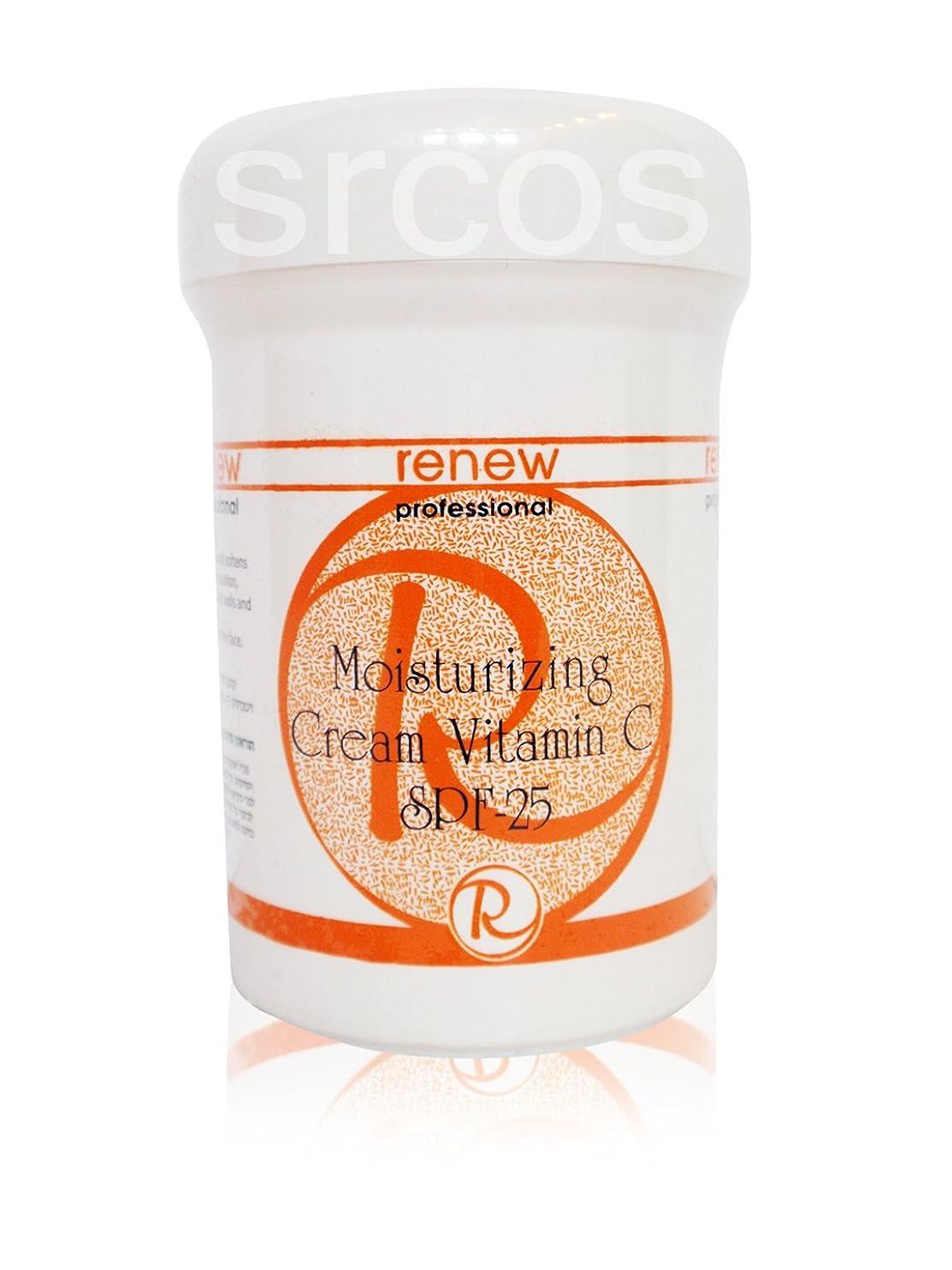 不正確ファンド不均一Renew Moisturizing Cream Vitamin C SPF-25 250ml
