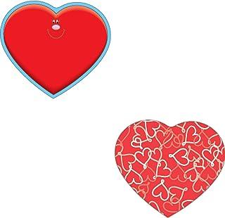Carson Dellosa | Hearts Mini Colorful Cut-Outs | 3-inch x 3-inch, 36pcs