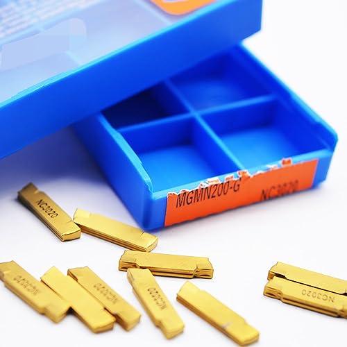 discount ZIMING-1 10pcs discount MGMN200-G NC3020 sale CNC Carbide Inserts tools online