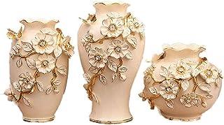 YUNLILI Artesanal Jarrón de cerámica decoración decoración jarrón simulación floración de Flores Mesa de té decoración cas...