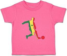Custom Baby & Toddler T-Shirt Soccer Player Senegal Cotton Boy Girl Clothes