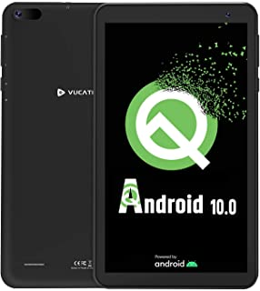 【Android10.0 Goモデル】VUCATIMESタブレット7インチ Android WiFiモデル - 16GB/Bluetooth/子供にも適当 携帯便利 日本語説明書/N7(黒)