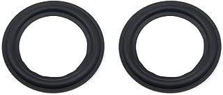 Karcy Speaker Foam Surround Repair Kit Rubber Speaker Foam Edge 4 Inch Black Pack of 2