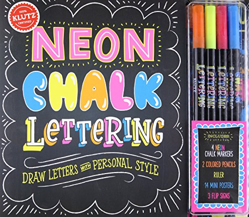 KLUTZ Neon Chalk Lettering Toy