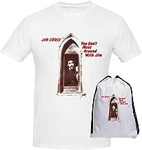 FGEXYZ Custom Croce Jim You Dont Mess Around with Jim Mens T Shirt Cotton O Neck