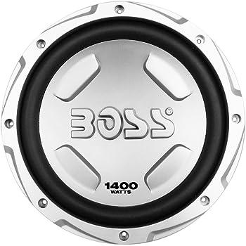 BOSS Audio Systems CX122 1400 Watt, 12 Inch, Single 4 Ohm Voice Coil Car Subwoofer