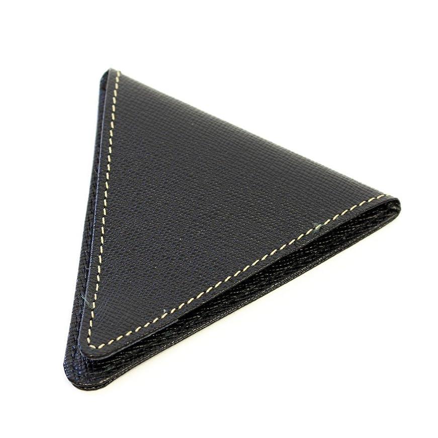 ペースト従者スケジュールさいふ 財布 上質な日本製の、牛革を使用 お洒落 8mm コインケース ブラック
