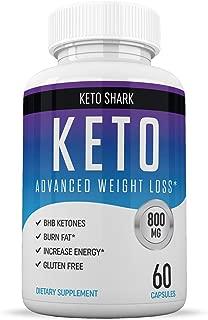 Keto Pills - Diet Supplements That Work - for Women & Men - Induce Ketosis Quicker - Burn Fat Fast - Ketogenic Carb Blocker - Keto Shark - 60 Capsules
