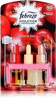 Febreze 3Volution Diffuseur (20 ml) pomme et cannelle, recharge, parfum d'ambiance et désodorisant