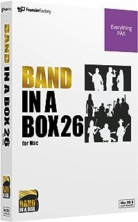 PG Music ピージーミュージック/Band-in-a-Box 26 for Mac EverythingPAK バンドインアボックス