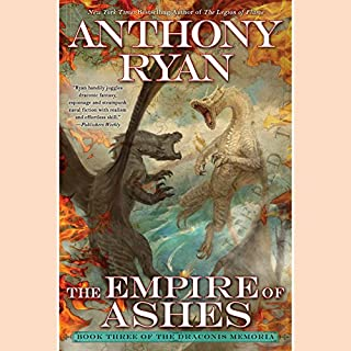 Page de couverture de The Empire of Ashes