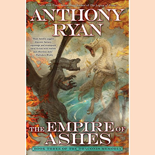 The Empire of Ashes audiobook cover art