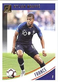 2018-19 Panini Donruss Soccer #132 Kylian Mbappe France Official Panini 2018-2019 Futbol Trading Card