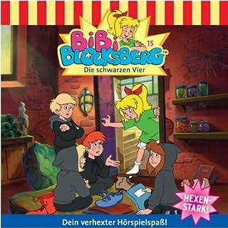 Die schwarzen Vier audiobook cover art