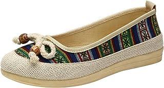 DAIFINEY Dames mocassin slipper loafers bowknot comfort schoenen huttenschoenen instapschoen slip on modieuze vrijetijdssc...
