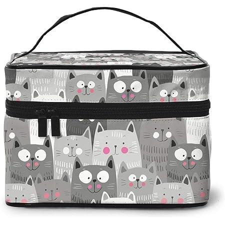 Makeup Bag Dog Rescue Animal Cat Rescue Travel Toiletries Organizer Bag For Women Handbag Organizer With Zipper