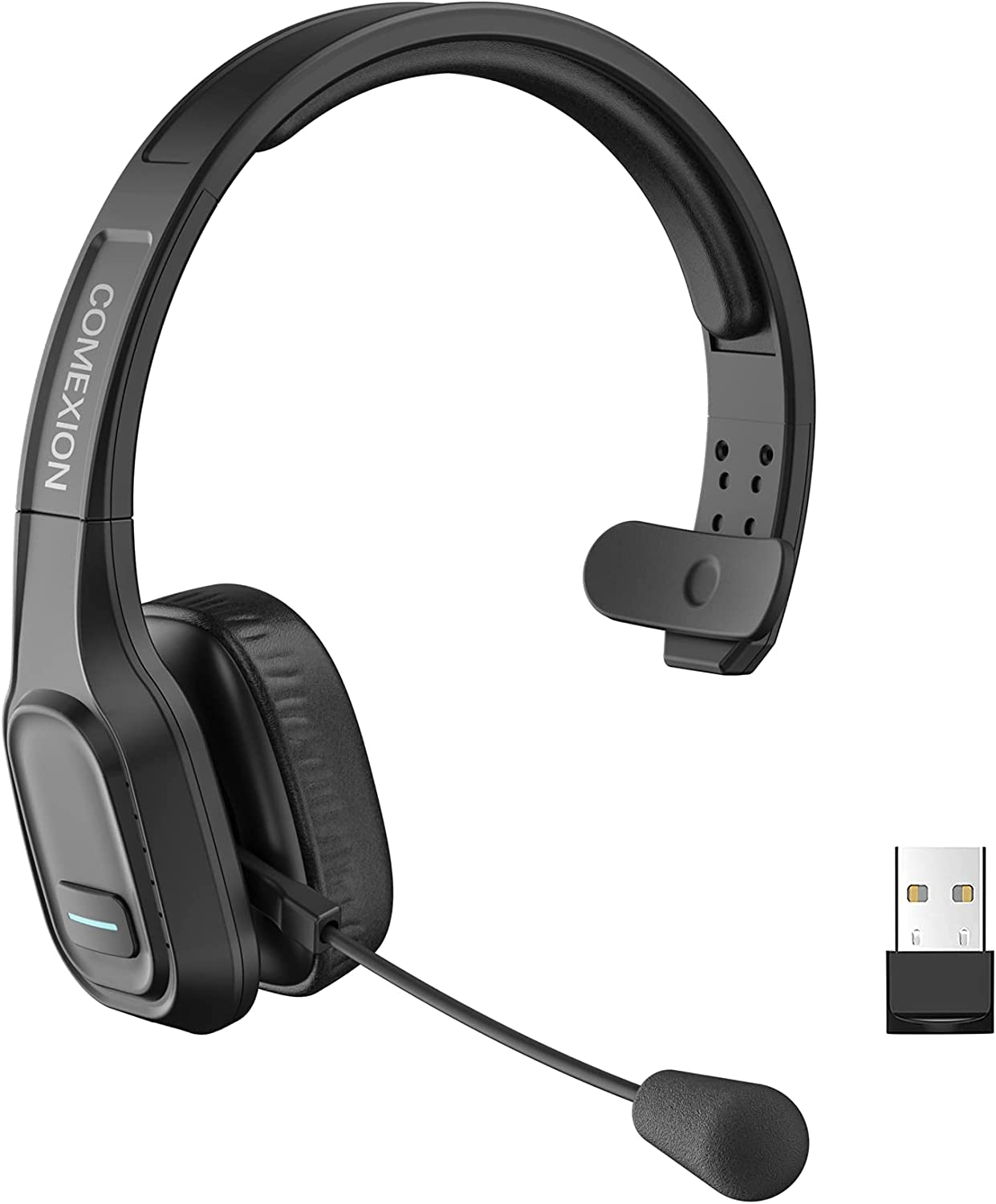 COMEXION Trucker San Diego Mall Bluetooth Headset with Wireless V5.0 Headphone Tampa Mall