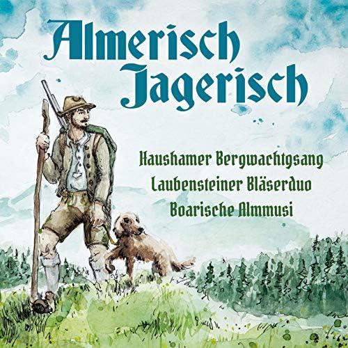 Haushamer Bergwachtgsang, Laubensteiner Bläserduo & Boarische Almmusi