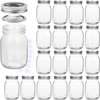 Best mason jars bulk 16 oz Reviews
