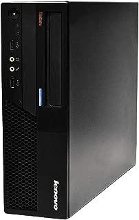 Lenovo ThinkCentre M58 Business Desktop Computer with Intel Core 2 Duo 3.0GHz Processor, 4GB-RAM, 320GB HDD, DVD, Gigabit Ethernet, VGA, Windows 10 Home (Renewed)