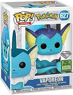 Funko Pop! Games Pokemon Vaporeon 627 Diamond Collection (B&N exclusivo compartido)