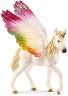 Schleich Winged Rainbow Unicorn FoalToy Figure