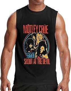 Motley Crue Muscle Tank Top, Black T-Shirt,Sleeveless T Shirt
