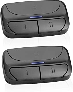 Universal Garage Door Remote Control, Replacement for Liftmaster Chamberlain 371LM, 373LRefossM, 375LM, 375UT, 971LM, 973LM, 315MHz, Intellicode G3T-BX G3T-R Multicode Linear 3089 (2 Pack)