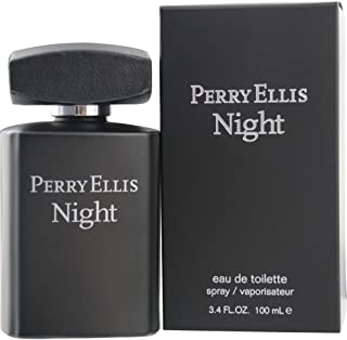 Perry Ellis Night By Perry Ellis for Men Eau-de-toillete Spray, 3.4 Ounce