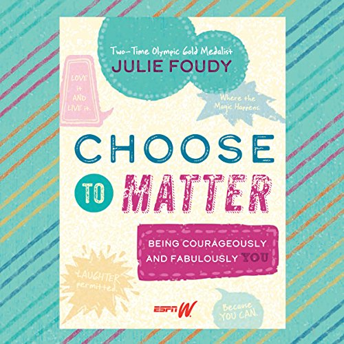 Choose to Matter audiobook cover art