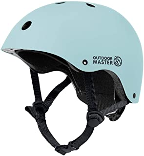OUTDOORMASTER 子供用自転車ヘルメット こども ヘルメット 幼児 子供 スポーツヘルメットCPSC安全規格 ASTM安全規格 軽量 通気性 3D保護クッション 置換クッションおまけ 取り出し可能 洗濯可能 全方位調整アジャスター サ...