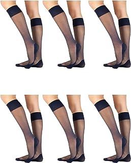60 DEN Nur Die Knie Cotton Sensation Calze Donna