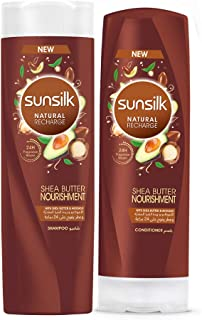 Sunsilk Shea Butter Nourishment Shampoo 400ml + Conditioner 320ml