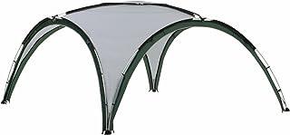 Coleman Event Shelter, Deluxe 4,6 x 4,6 m, Pavillon wasserdicht, stabiles Partyzelt mit Stahlgestänge, Gazebo, Eventzelt, Sonnenschutz SPF 50+, hellgrau-grün