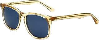 Isaac Mizrahi Designer Sunglasses IM98-87 in Warm Sun with Blue Lenses