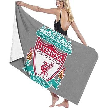 Pureny Liverpool Bath Towels Beach Towel Bath Towel Antibacterial Absorbent Soft 130 x 80 cm