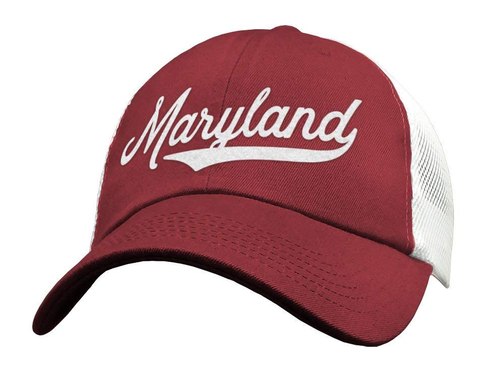 State of Maryland Trucker Hat Baseball All stores are sold Mes Cap Snapback - Sports Direct sale manufacturer