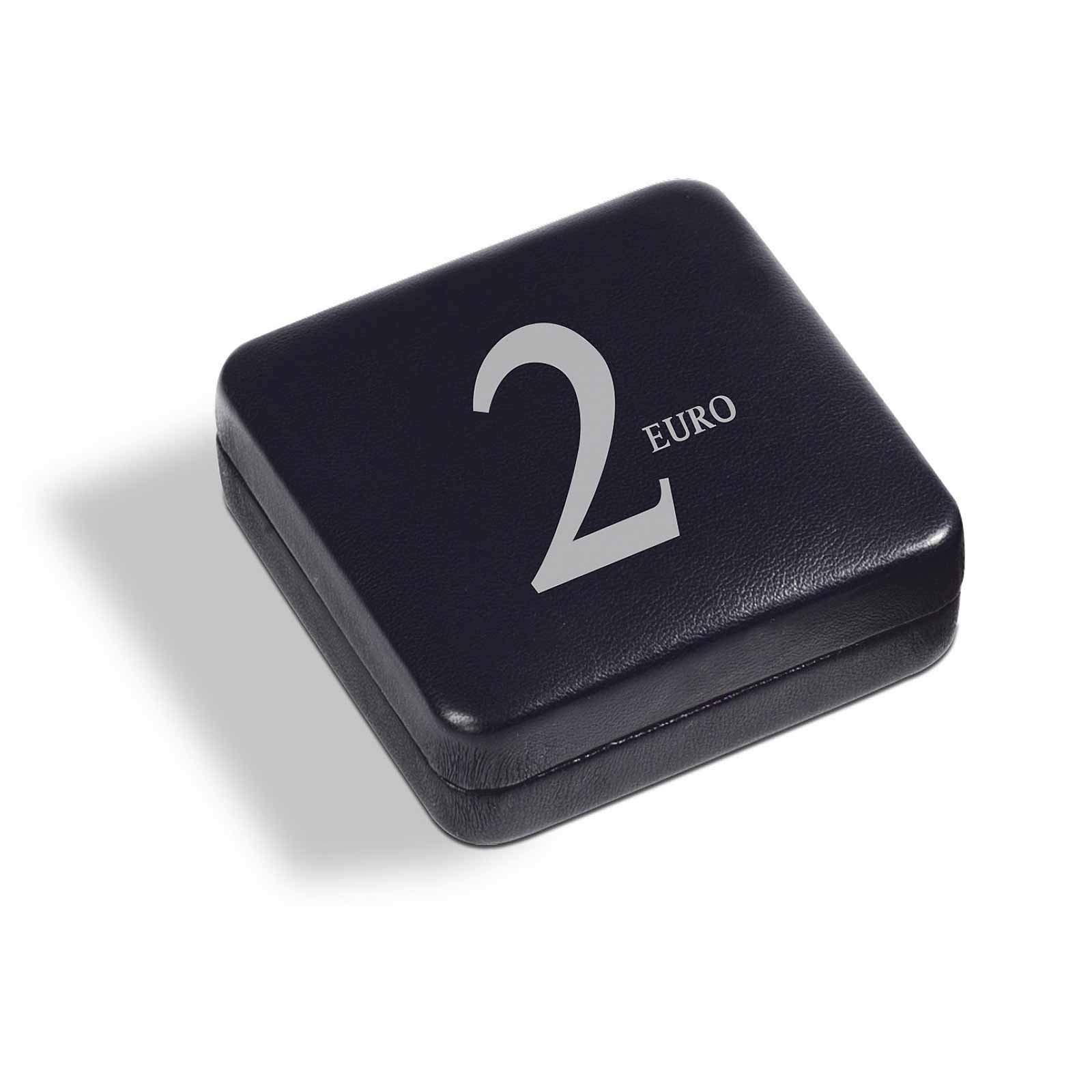 Estuche NOBILE para 1 Moneda de 2 Euros en cápsula, Negro: Amazon.es: Juguetes y juegos