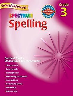 Spectrum Spelling, Grade 3