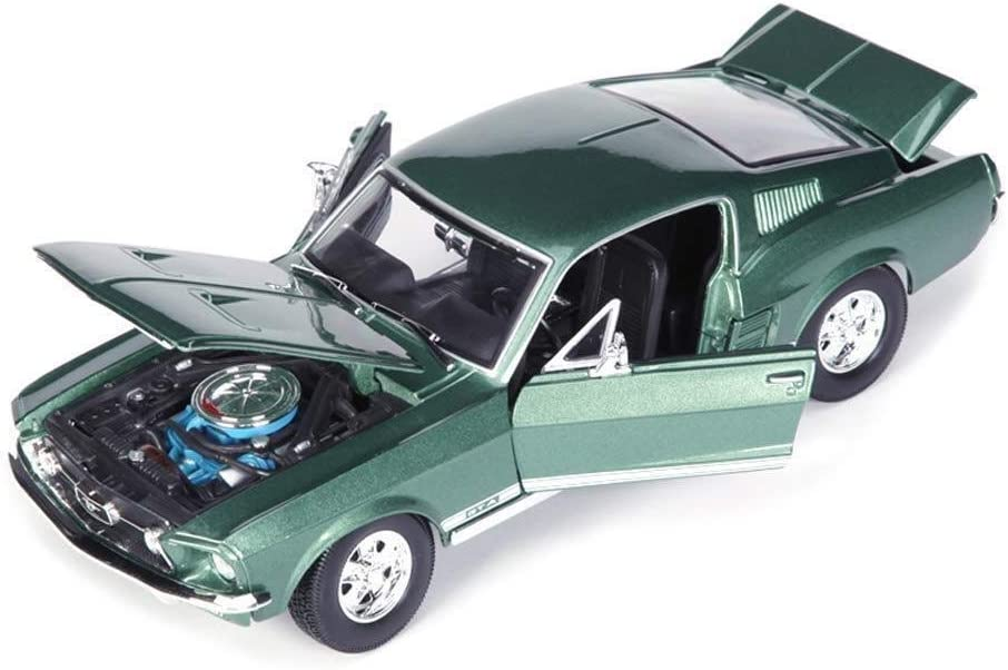 NYDZDM Car Model security 1:18 for Ford A Simulation Mustang Ranking TOP3 GTA 1967
