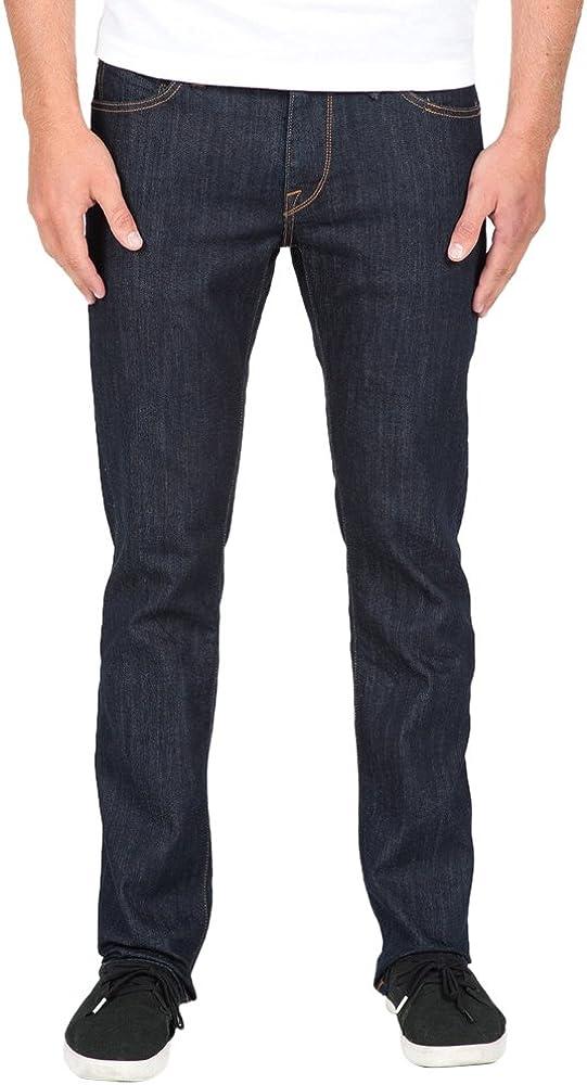 Volcom Men's Vorta Slim Denim Daily bargain sale New life Jean Stretch Fit