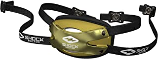 Shock Doctor Football Chin Strap. Attaches to Helmet. for Youth, Adult, Kids. Hard Shell for MAX Protection and Comfort.