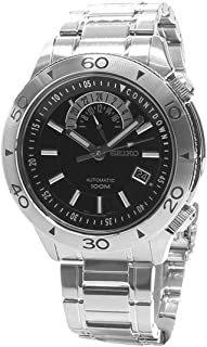 Seiko Superior Automatic Black Dial Stainless Steel Mens Watch SSA181 by Seiko Watches