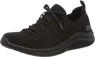 Ultra Flex 2.0-Flash Illusion, Zapatillas para Mujer, Black Knit Mesh/Trim BBK, 5 EU