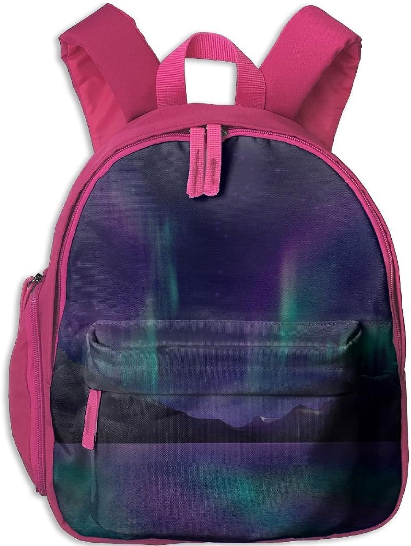 Pinta Planet Aurora Cub Cool School Book Bag Backpacks for Girl's Boy's