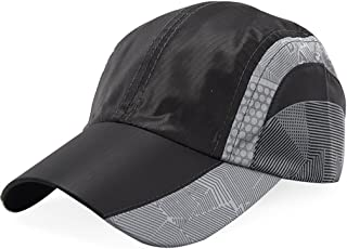 LPKH Sun Hat Outdoor Climbing Sports Cap Anti-UV Baseball Hats hat (Color : Black)