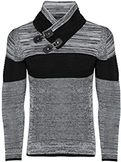 Carisma Basic Maglione UOMO Sweater Felpa BIANCO FASHION TREND STYLE WOW