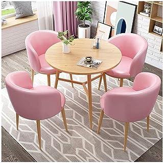 Table de salle à manger, table de salle à manger simple et chaise combinée pour la maison, le bureau, le salon - Table de ...